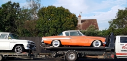 1958 Studebaker Coupe & 1964 Chevrolet C10 Pickup – transported from Auckland to Palmerston North
